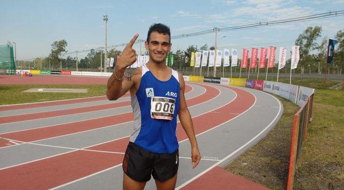 Leandro Paris Campeon Sudamericano