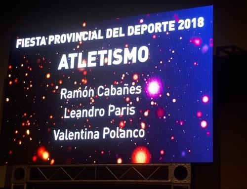 Atletas Consagrados en 2018