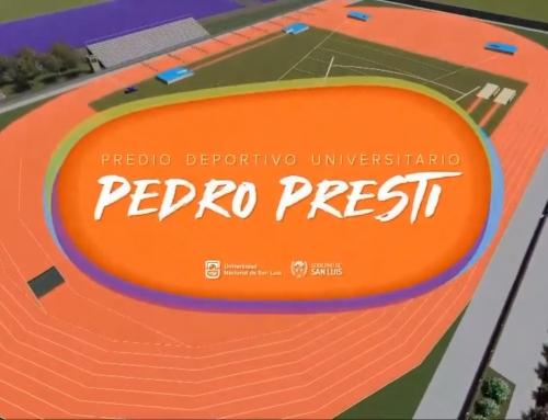 Convenio para la construcción de la pista sintética de atletismo